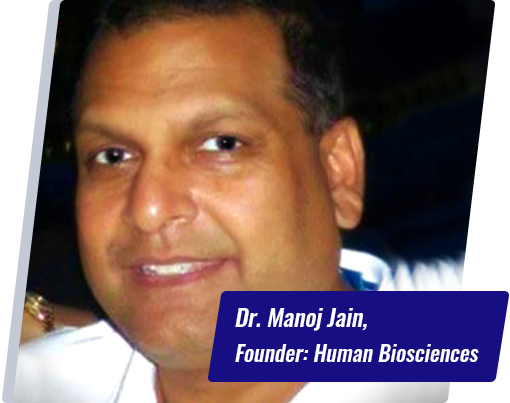 Dr.Manoj k Jain CEO