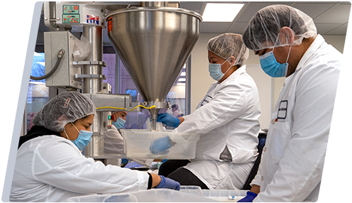 manufacturing medical-grade pharmaceuticals, wound care solutions and non-prescription consumer products